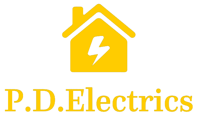 The PD electrics Logo.