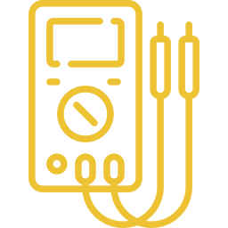 An icon depicting a multimeter.